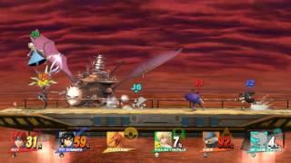 Wii U   Smash   Battle for pizza