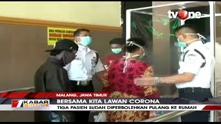 Kabar Gembira, Tiga Pasien Covid-19 di Kota Malang Dinyatakan Sembuh