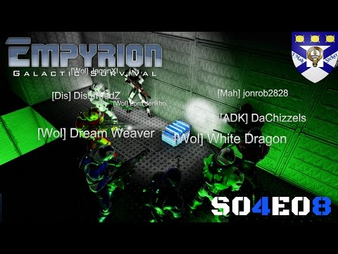 """Empyrion Galactic Survival (S04) -Ep 08 """"Wolves Memorial Raid"""" -Multiplayer """"Let's Play"""""""