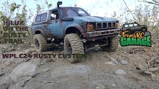 WPL C24 Rusty Custom | Hilux on the dusty trail | French RC Garage