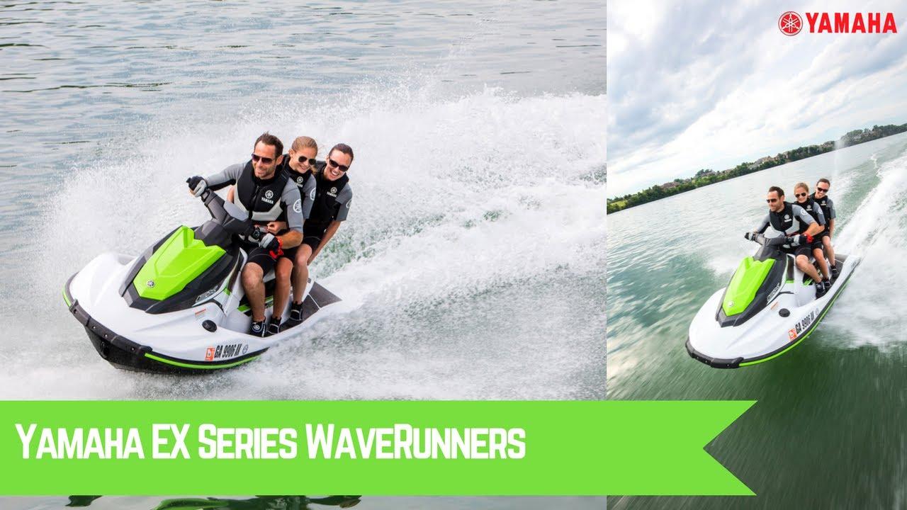 All New 2017 Yamaha EX Series WaveRunners