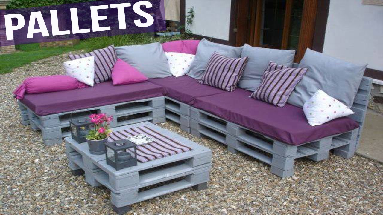 Ideas para reciclar pallets y crear hermosos muebles youtube - Ideas para reciclar muebles ...