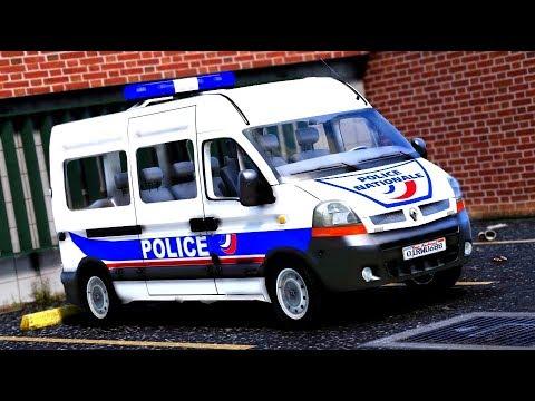 GTA 5 : POLICE NATIONALE #8   Renault Master [ELS]