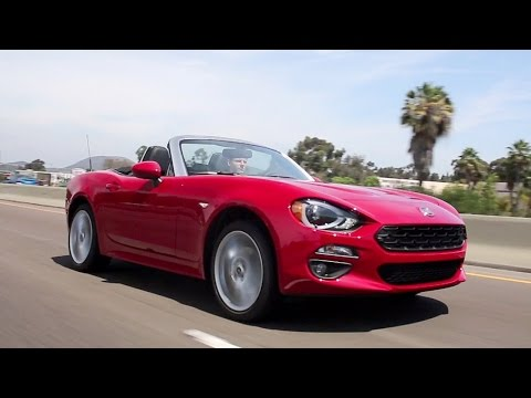 2017 Fiat 124 Spider Review and Road Test