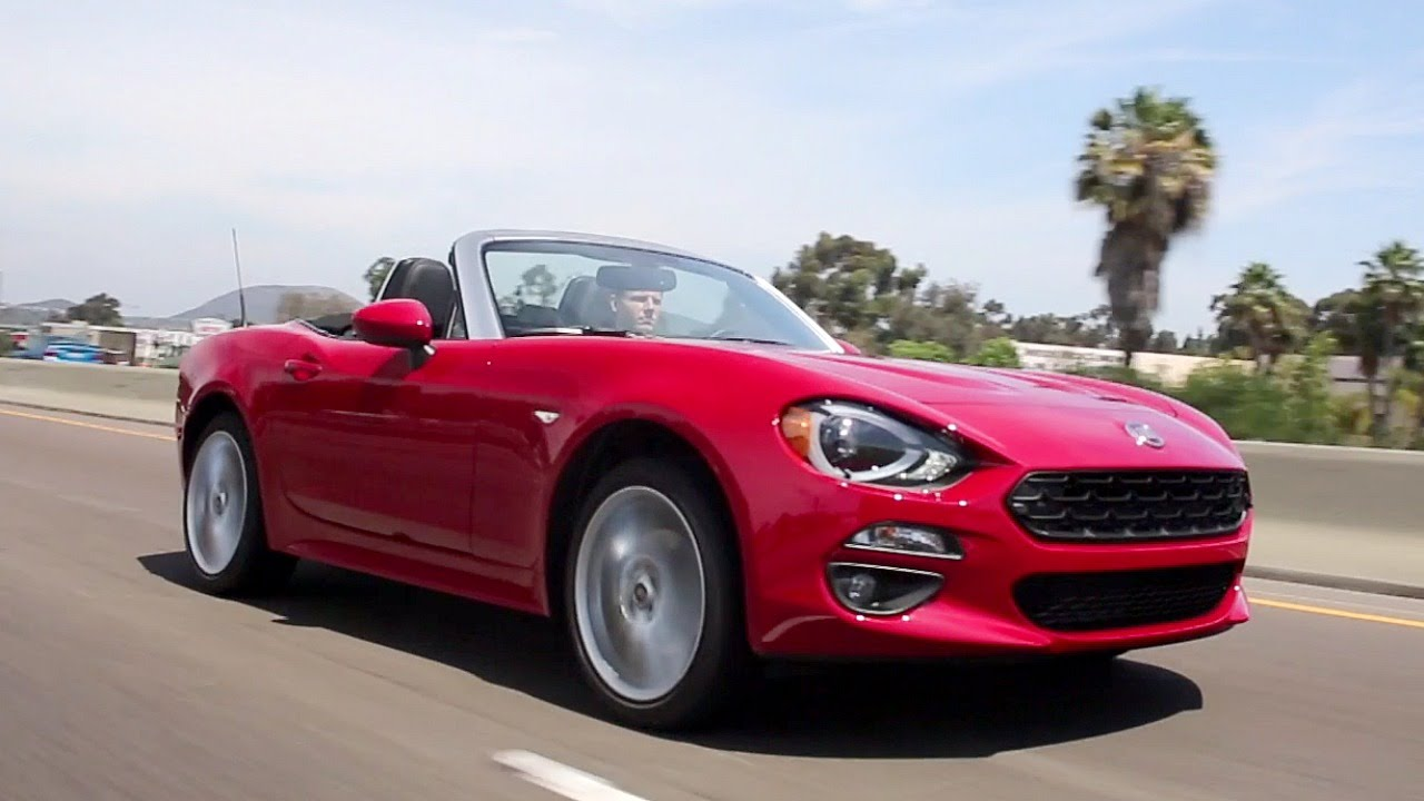 2017 fiat 124 spider review and road test youtube. Black Bedroom Furniture Sets. Home Design Ideas