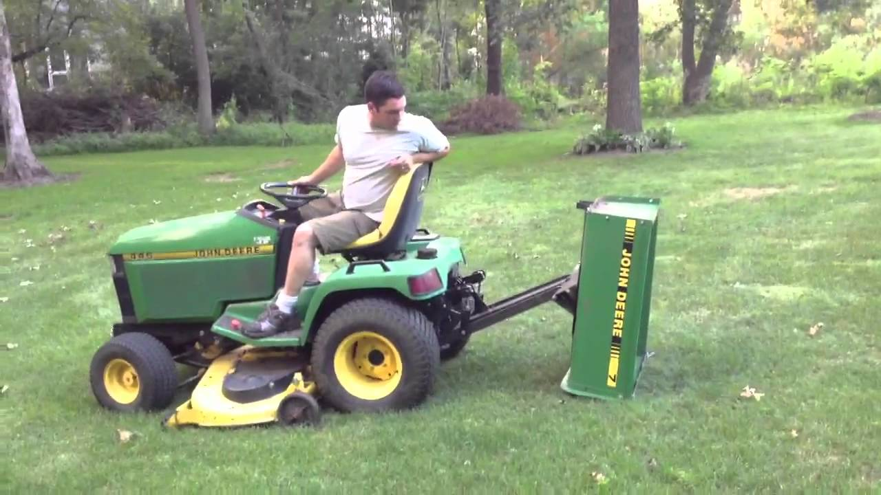 John Deere 445 Custom 7 Tralier Youtube