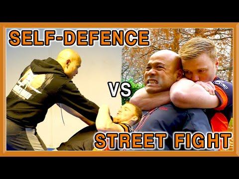 Self Defence vs Street Fighting | Master Wong (Self Defense US)