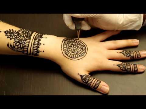 Những mẫu hình xăm Henna 2016 đẹp mê hồn
