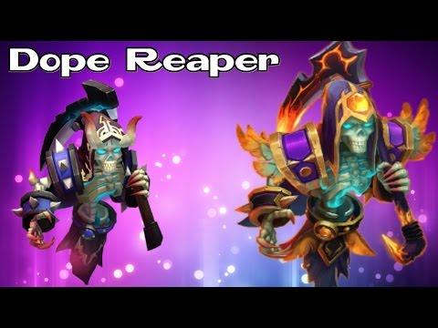 Castle Clash : Evolving Grizzly Reaper