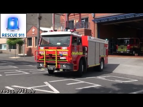 [Melbourne] Heavy Rescue 3 Metropolitan Fire Brigade (MFB)