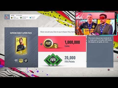 Fifa 20 ONE MILLION COIN PACK!!! Fifa 20 Special Pack Opening