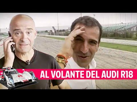 Al volante del Audi R18 de las 24H Le Mans - El Garaje Lobato