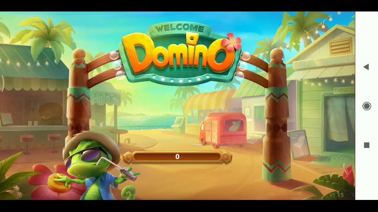 Domino island - main gaple dapat pulsa - YouTube