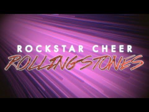 Rockstar Cheer Rolling Stones 2017-2018