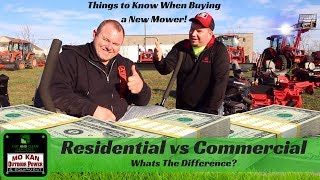 Residential vs Commercial Mowers ► Whats The Best Lawn Mower?