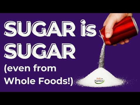 Nutrition label | Sugar is sugar. Don't be fooled if it's sold in a 'health food store.'