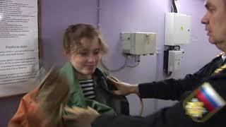 Тренажерная подготовка девушек-курсантов  Военно-морского политехнического института