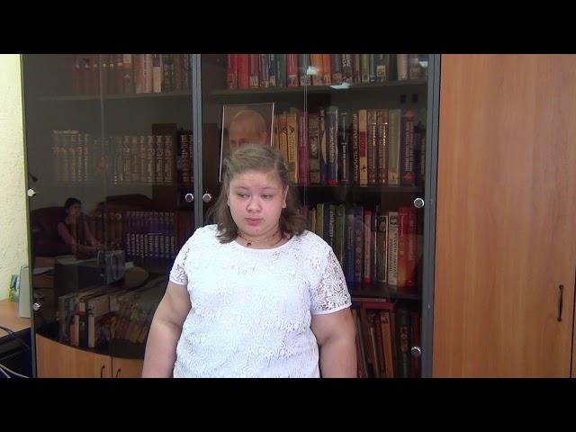 Изображение предпросмотра прочтения – МарияЧугуй читает произведение «Травка зеленеет» А.Н.Плещеева