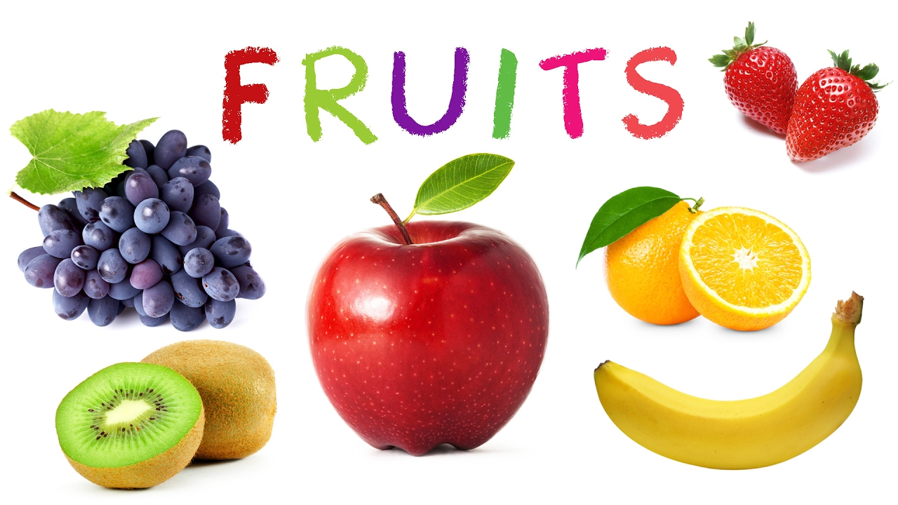 Fruit Names | Learn Fruits for Kids | English Words for ...