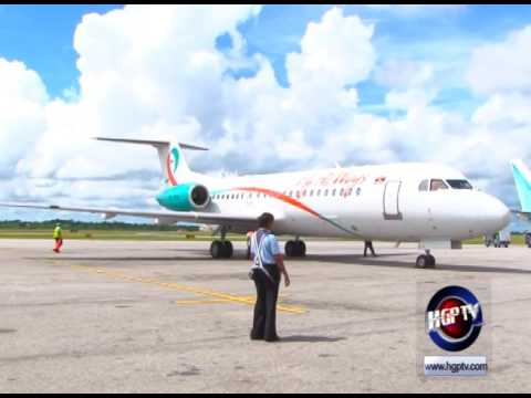 FLY ALLWAYS LAUNCHES SERVICES TO GUYANA