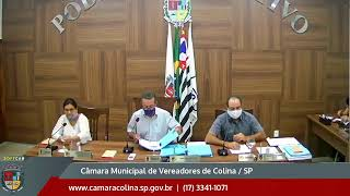 Câmara Municipal de Colina - 13ª Sessão Ordinária 08/09/2020