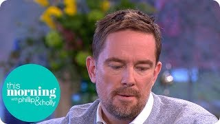 Simon Thomas Describes Telling His Son His Mother Had Died   This Morning