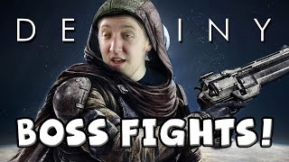 Destiny: Moon & Venus Strike Bosses + My Bungie Trip!