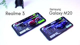 Pilih Mana? Samsung Galaxy M20 atau Realme 3