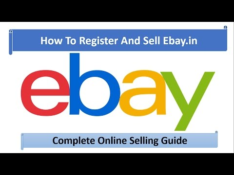 Learn How To Register And Sell On Ebay In In Hindi Youtube