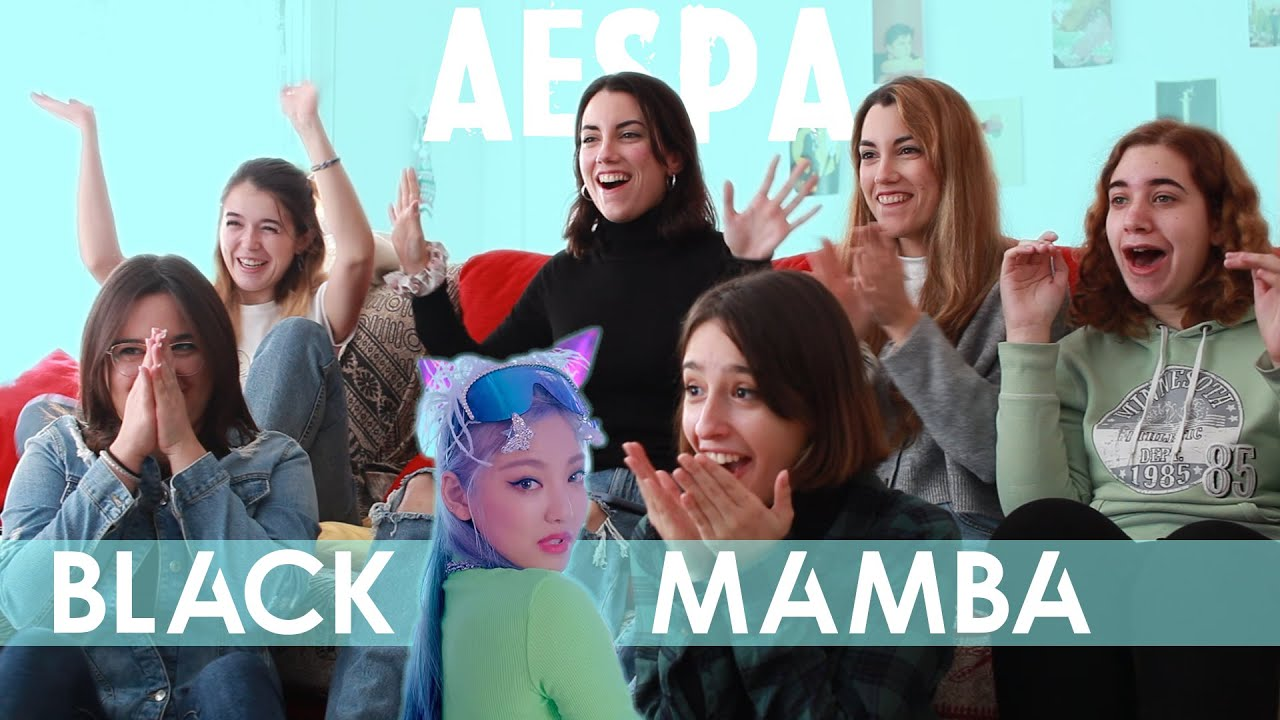 Download aespa (에스파) - 'Black Mamba' MV | Spanish college students REACTION (ENG SUB)