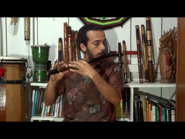 Flauta Transversal - Estilo Zen 4 furos F
