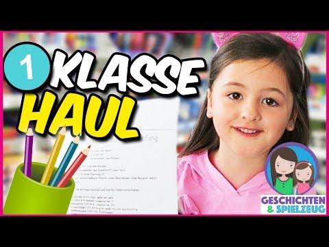 Avas Schulsachen für die 1. Klasse   Einschulungs HAUL, BACK TO SCHOOL 📚  Geschichten und Spielzeug