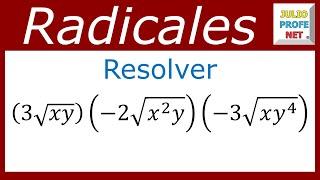 MULTIPLICACIÓN DE RADICALES DEL MISMO ÍNDICE thumbnail