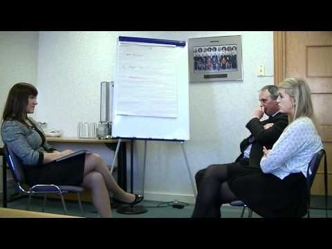 Niamh Muldoon Solicitor conducting a mediation.avi