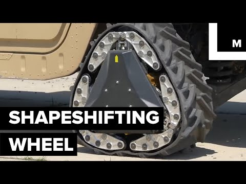 The Military Is Developing A Shapeshifting Wheel That Is Capable Of Transforming In Just 2 Seconds