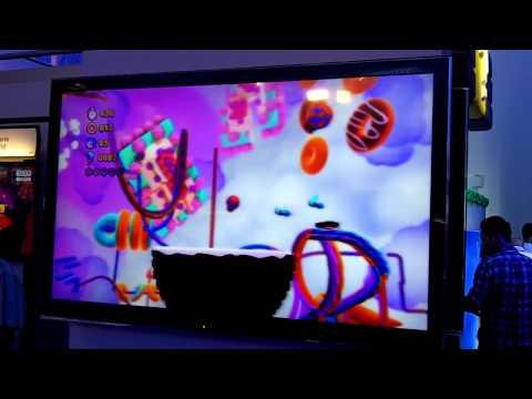 Sonic Lost World - Desert Ruins 1 Wii U Gameplay Footage (E3 2013)