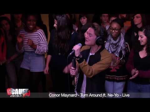 Conor Maynard - Turn Around ft. Ne-Yo - Live - C'Cauet sur NRJ