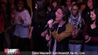 Conor Maynard - Turn Around ft. Ne-Yo - Live - C'Cauet sur NRJ