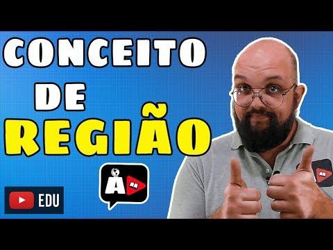 Conceito De REGIÃO | Gotas De Geografia | Agora, Disserte!