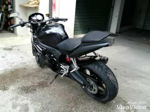 Yamaha r6 streetfighter special - YouTube  Yamaha r6 stree...