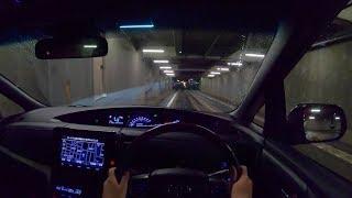 【試乗動画】2018 トヨタ エスティマ ハイブリッド AERAS PREMIUM-G 4WD 夜間試乗