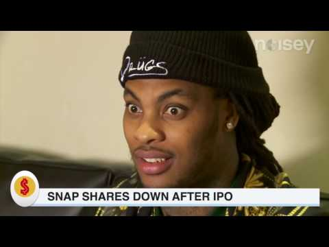 Snap Shares Down After IPO