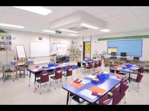 Design Classroom Layout bench Elementary Concept - YouTube
