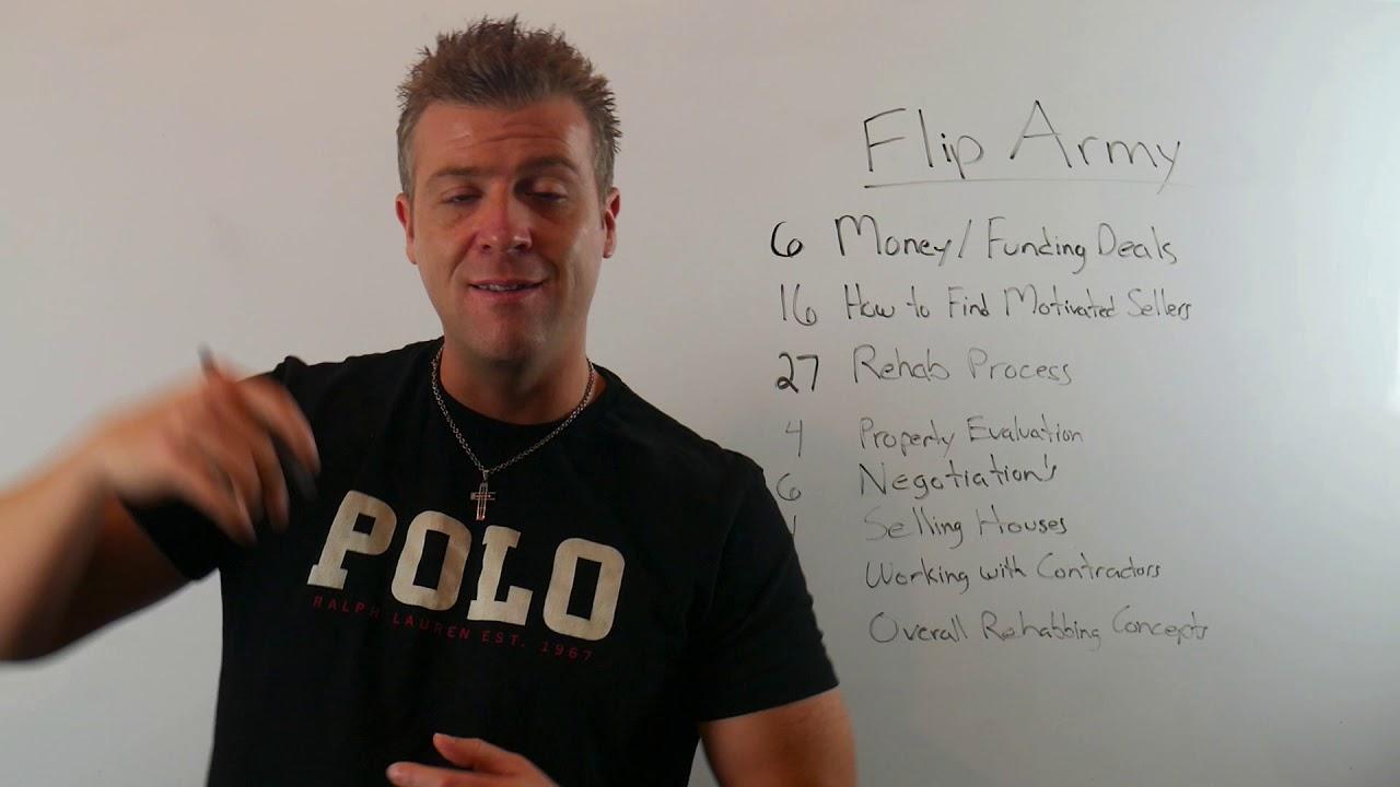 Flip Army Tab Intro Sales Video