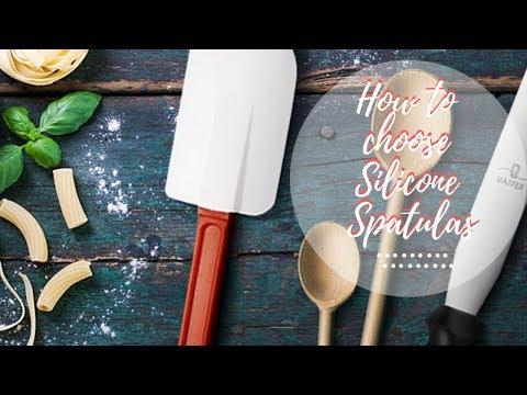 How To Choose Silicone Spatulas For A Pastry Cook ★ 2019 ★ Как выбрать правильную кулинарную лопатку