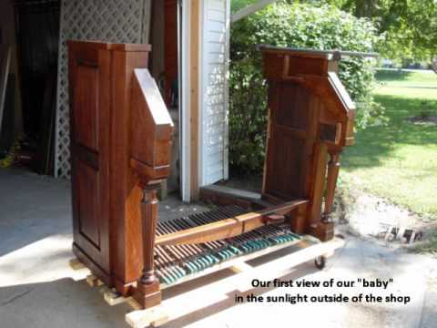 Mason & Hamlin Liszt 2MP Reed Organ Restoration