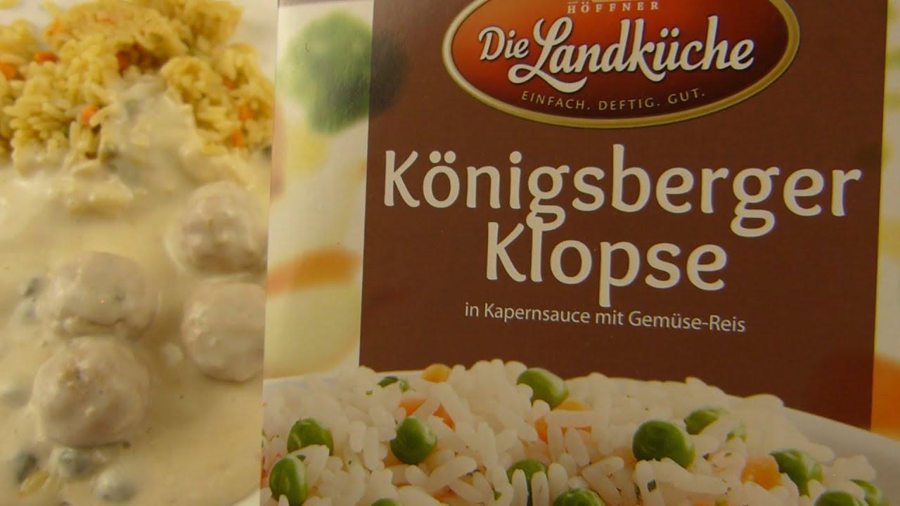 Die Landküche - German Meatballs & Capersauce / Königsberger Klopse & Kapernsoße