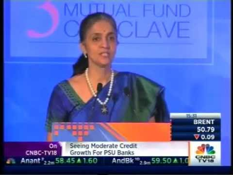 "Ms. Chitra Ramkrishna, MD & CEO, NSE addressed ""Third Mint MF Conclave 2016, Mumbai"""