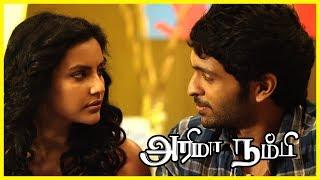 Priya Anand gets kidnapped | Arima Nambi Scenes | Vikram Prabhu lodges a complaint