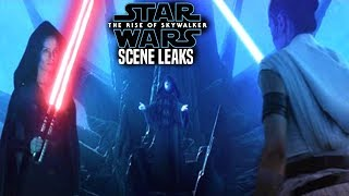 MASSIVE The Rise Of Skywalker Scene Leaks! WARNING (Star Wars Episode 9)